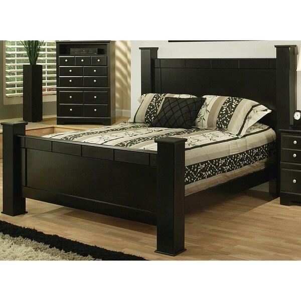 Sandberg Furniture Elena Black Estate Bed 16971625