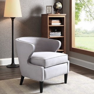 Philly Framed Chair Grey 12318384 Overstock Com