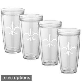 Kasualware Designs 22-ounce Doublewall Drinkware (Set of 4)