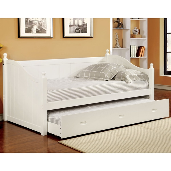 Sites Like Overstock For Furniture: Furniture Of America Cornelia Cottage Style Trundle Daybed