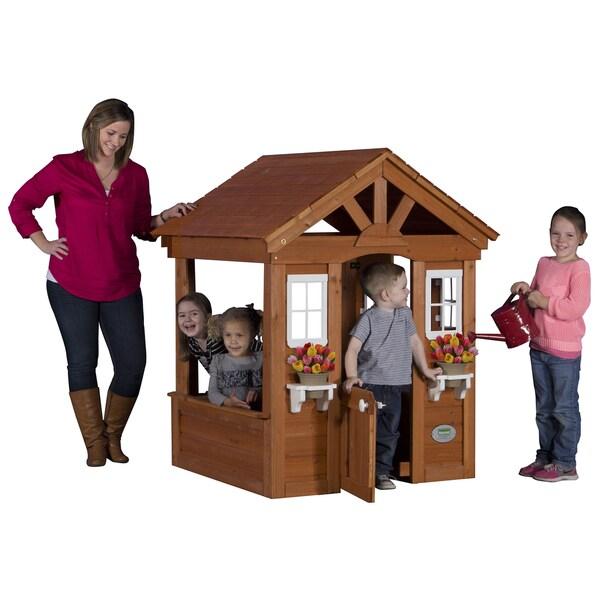 Backyard Discovery Columbus All Cedar Play House
