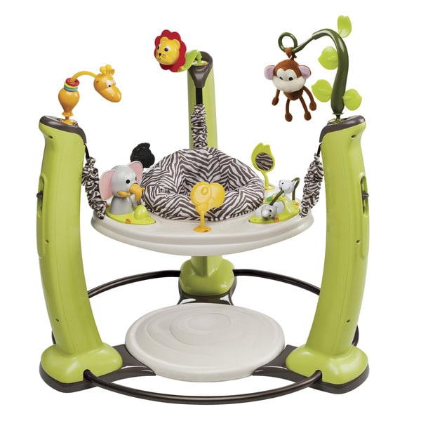 Evenflo Exersaucer Jump And Learn Jungle Quest Stationary