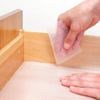 Con-Tact Brand Zip-N-Fit Clear Ribbed Non-Adhesive Nonslip Shelf and Drawer Liner (Pack of 6)