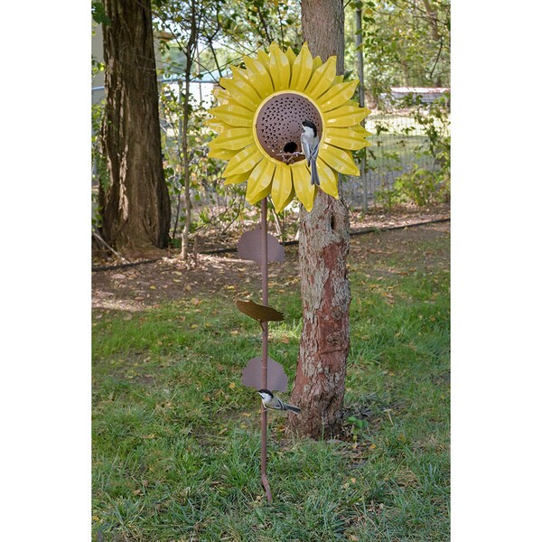 Sunflower Bird Feeder 17071196 Overstock Com Shopping