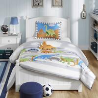 Mi Zone Kids Daring Dino 4-piece Comforter Set