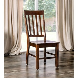Countryside Chic Wood Dining Chairs Set Of 2 14124129