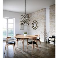 Capital Lighting Axis Collection 4-light Russet Orb Pendant