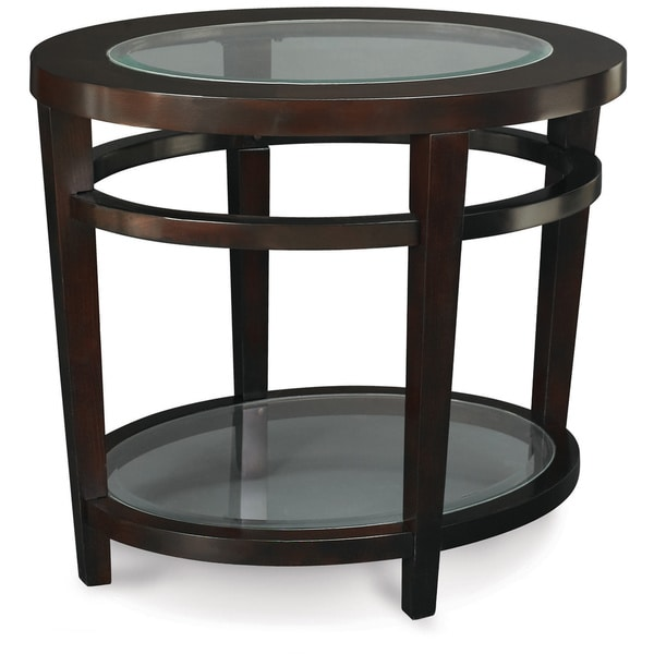 Art Van Tables: Art Van Urbana Oval End Table