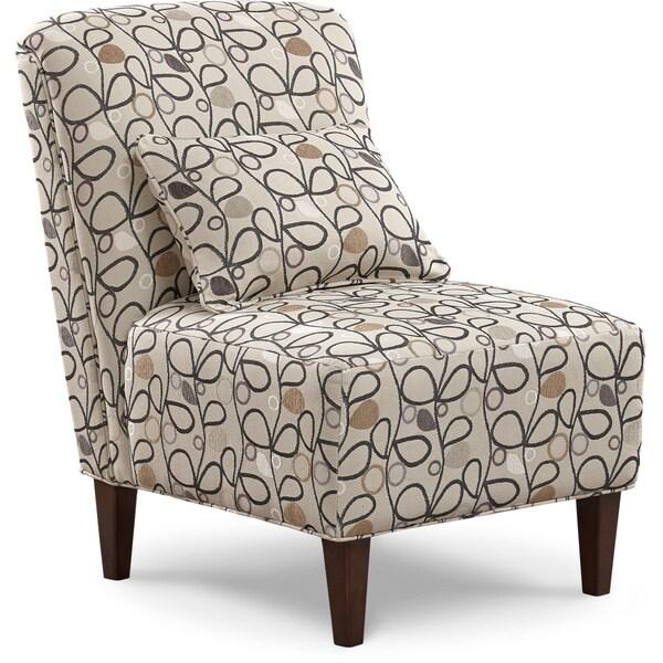 Art Van Elle Iii Armless Accent Chair