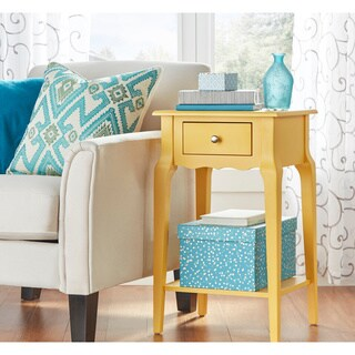 Daniella 1-drawer Wood Storage Accent End Table by iNSPIRE Q Bold