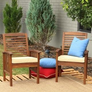 International Caravan Iron Lattice Lawn Chairs Set Of 2