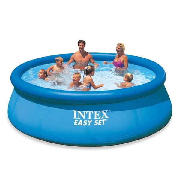 Intex 12 X 30 Easy Set Pool 17107697 Overstock Com