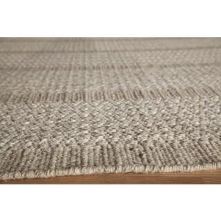Hand Woven Darcy Geometric Flatweave Wool Rug 8 X 11