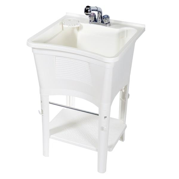 Zenith Ergo Tub Complete Freestanding Utility Laundry Sink