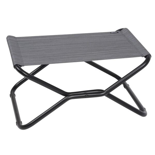 Lafuma Next Black Frame Folding Footrest Stool 17116019