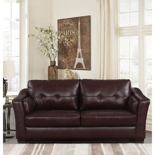 Abbyson Living Cooper Top Grain Leather Sectional