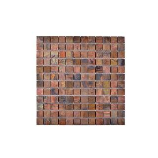 Metallo Wall Copper 4x4 Self Adhesive Vinyl Wall Tile 27