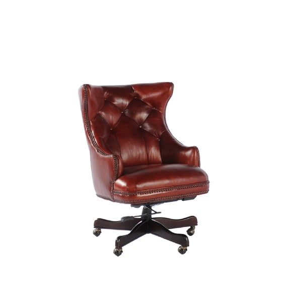 Overstock Office Furniture: Obama Leather Office Chair
