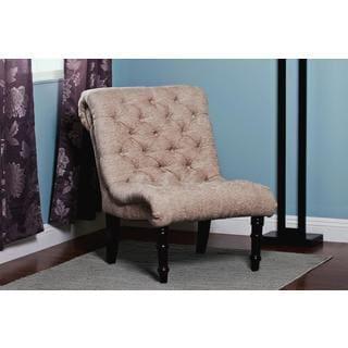 Madison Park Lola Tufted Armless Chair 16675782