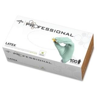 Medline Professional Latex Exam Gloves Large Size
