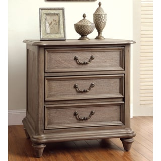 Furniture of america gryphen rustic wire brushed grey 3 - Rustic bedroom furniture for sale ...