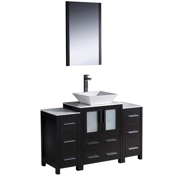 Fresca Torino 48 Inch Espresso Modern Bathroom Vanity With