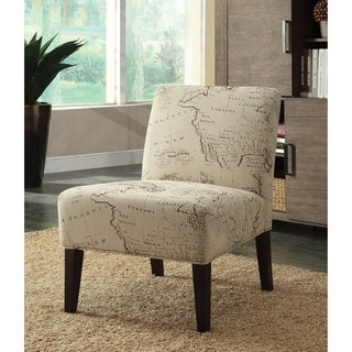 Roses Deco Accent Chair 13641920 Overstock Com