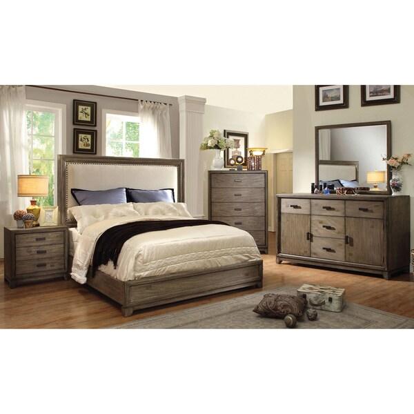 Furniture Of America Arian Rustic 4-Piece Natural Ash