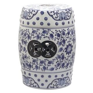 Handmade Blue And White Kylin Chinese Porcelain Garden