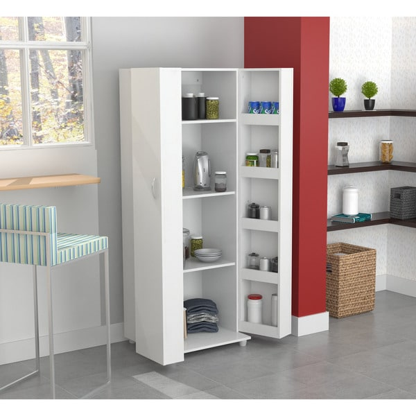 Kitchen Storage Cabinet Pantry Organizer With 5 Shelves In