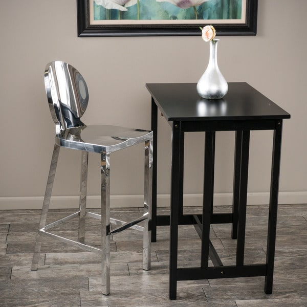 Christopher Knight Home Paris Stainless Steel Bar Stool