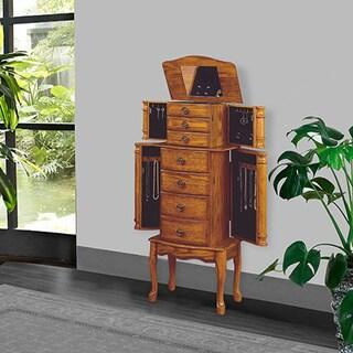 Ningbo Rustic Green 6 Drawer Jewelry Armoire 13323246