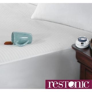Restonic Waterproof Electric Warming Mattress Pad With