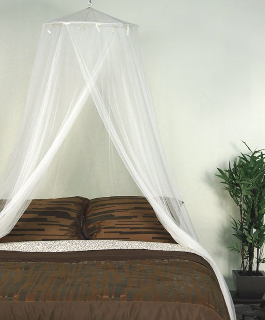 Ivory adult mosquito net canopy 10623770 - Canopy bed ideas for adults ...