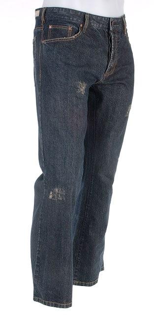 Mbx Men S Chase Cross Hatch Denim Jeans Overstock