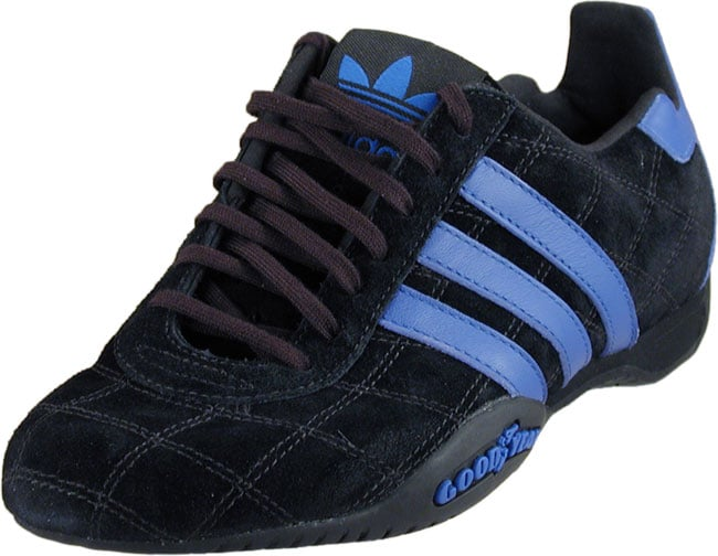Adidas Women's Tuscany Suede Black/Royal Shoes - Overstock ...