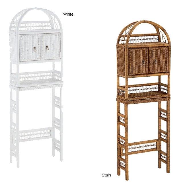 Wicker Wall Shelf Bathroom: Overstock.com Shopping