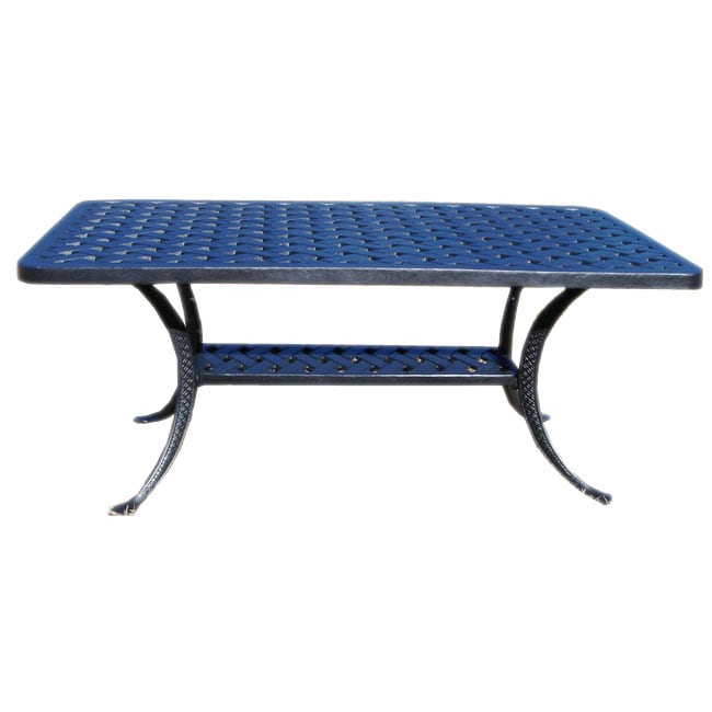 Cast Aluminum Outdoor Coffee Table