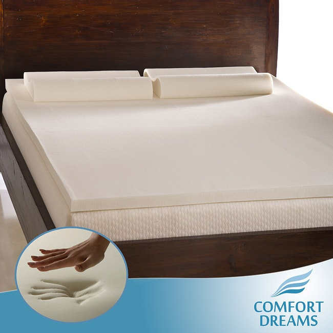 Comfort Dreams 2 Inch Queen King Size Memory Foam
