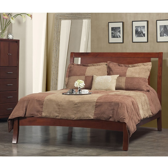 Nevis Low Profile Spice Full Size Bed 10216082