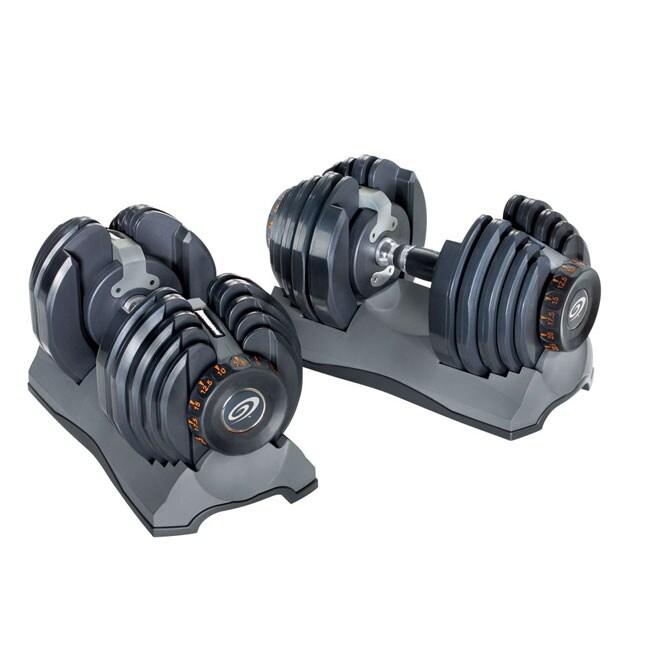 Set Of Two Nautilus Selecttech 552 Dumbbells 10224564 Overstock Com Shopping Great Deals