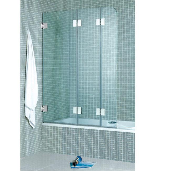 Folding 3 Panel Bath Tub Door 10229498 Overstock Com