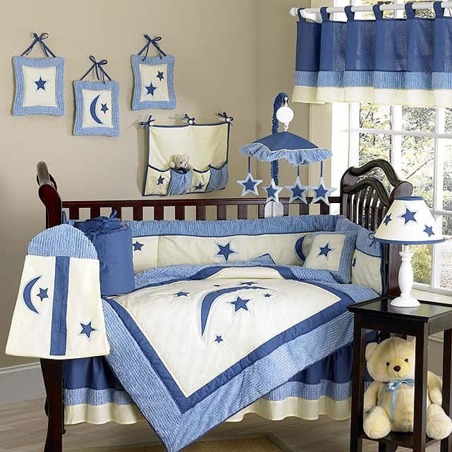 Stars And Moons 12 Piece Crib Bedding Set 10298139