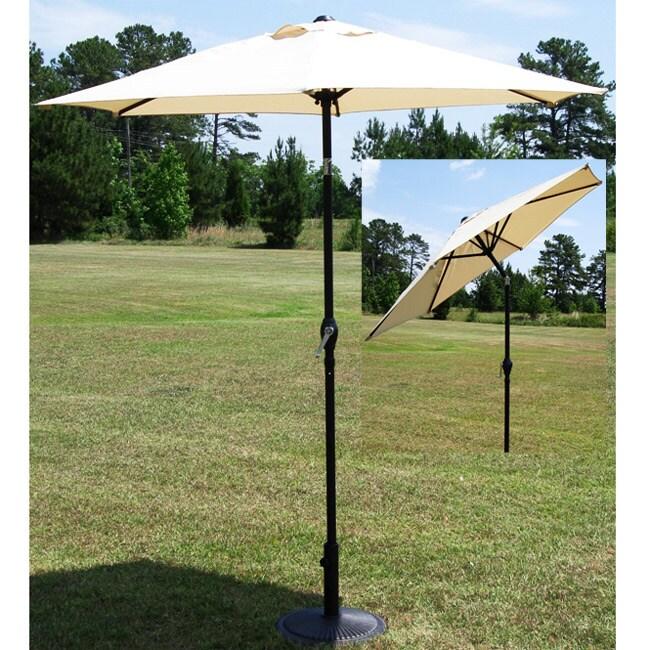 Adjustable 7 5 Ft Patio Umbrella 10327942 Overstock