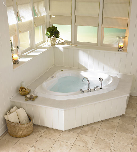 Jacuzzi Bellavista Corner Whirlpool Tub 10362685