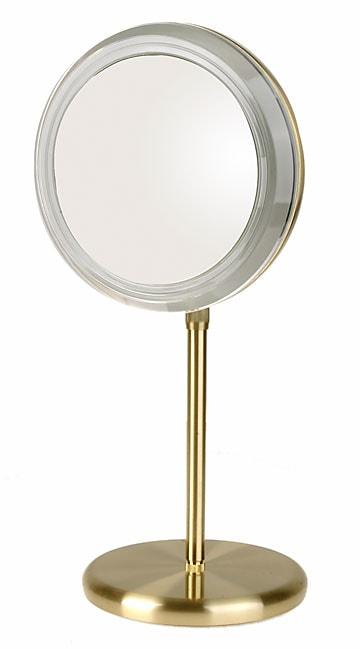 Rialto 5x Adjustable Height Lighted Vanity Mirror