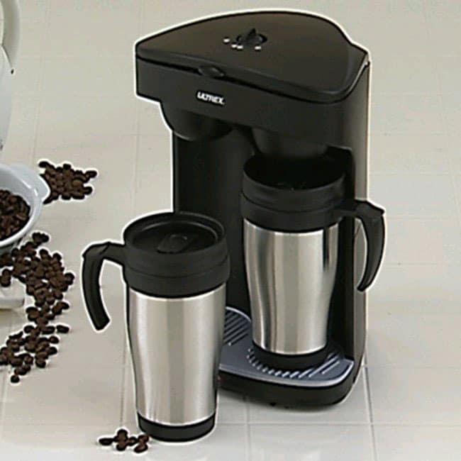 Ultrex Double Travel Mug Coffee Maker 10463952