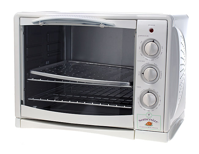 Somersize Countertop Convection Oven W Rotisserie