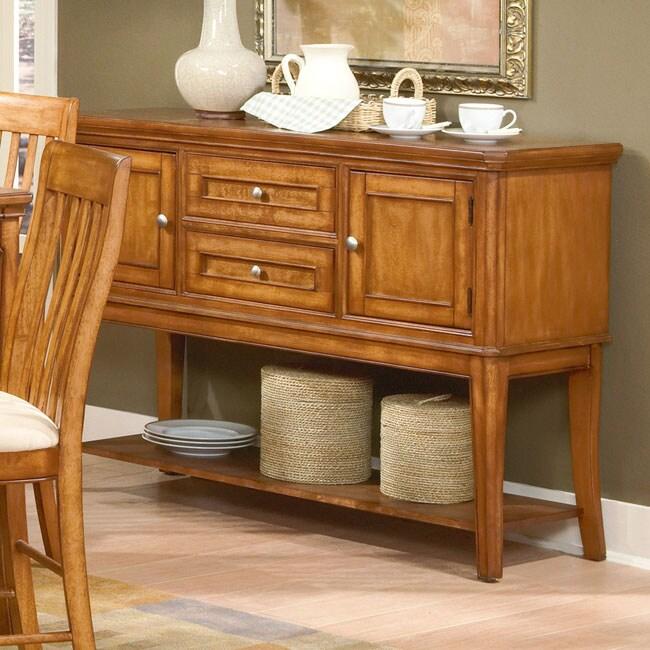 versatility oak buffet table 10511200 shopping big discounts on buffets. Black Bedroom Furniture Sets. Home Design Ideas