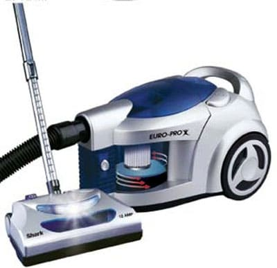 Europro Shark Pursuit Hepa Bagless Canister Vacuum